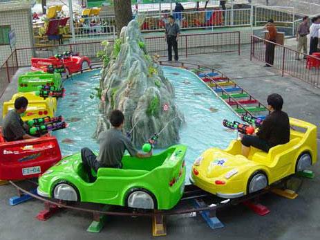 A Home Backyard Use Mini Roller Coaster