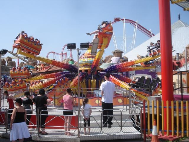 Techno Jump Ride working at fairground