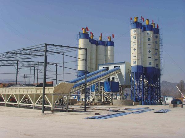 2HZS90 Concrete Batching Plant