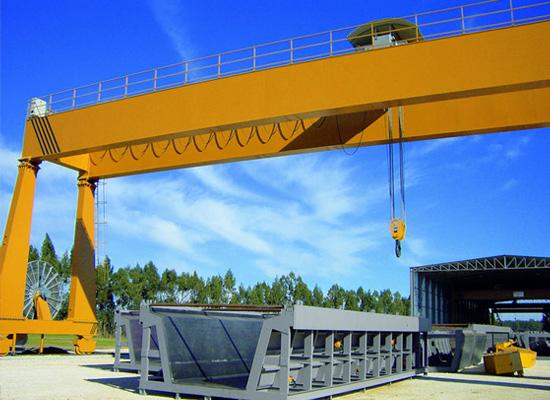 100 ton double girder gantry crane
