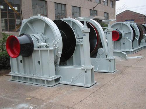 hydraulic mooring winch form ellsen manufacturer