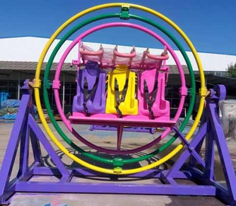 human gyroscope ride for fun