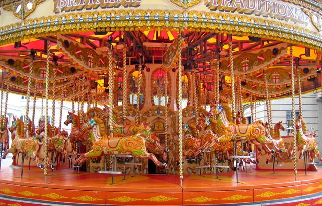 Carousel Ride for Family