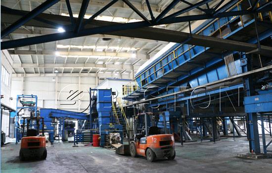 Beston waste separation machine for sale