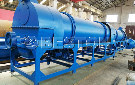 Beston charcoal making machine for sale with high quality