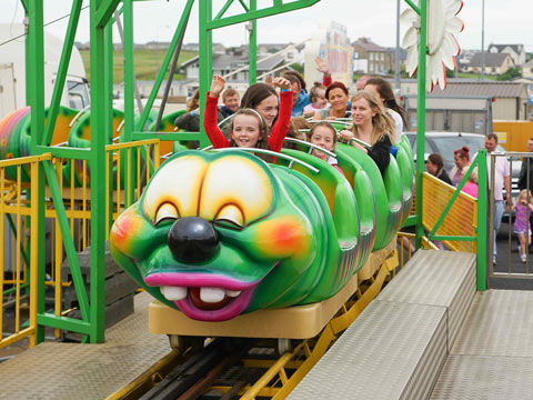 Mini Backyard Roller Coaster Ride