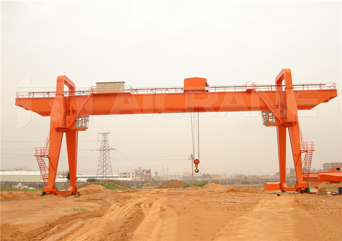 30 ton double girder gantry crane price from China