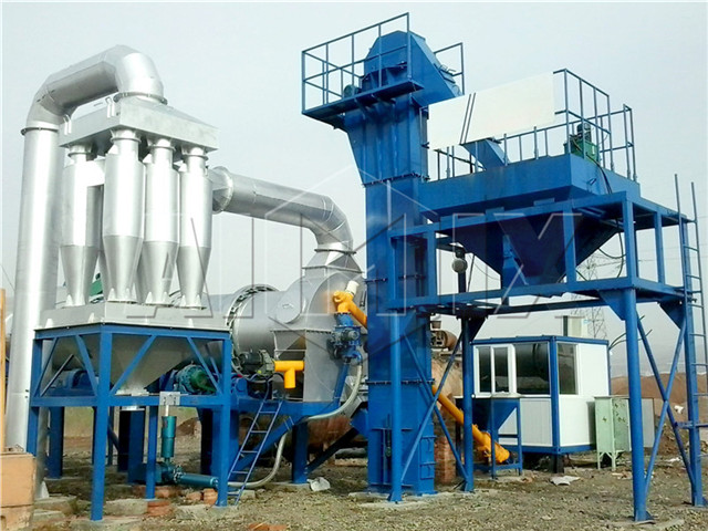 Mobile Asphalt Mixing Plant From China